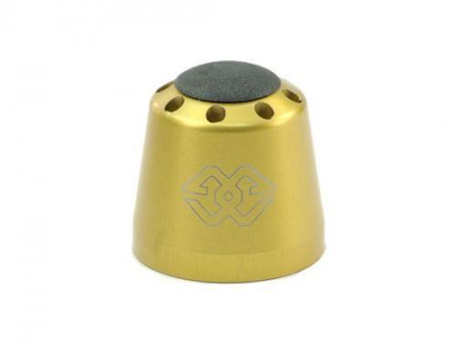 Stuurgewichten aluminium goud