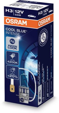 koplamp 12V 55W H3 COOL BLUE INTENSE