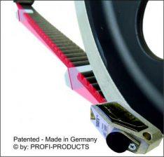 Laser uitlijntoestel voor ketting