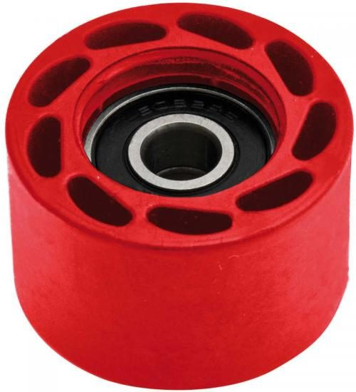 CHAIN ROLLER INT 8 MM EXT 8 MM RED
