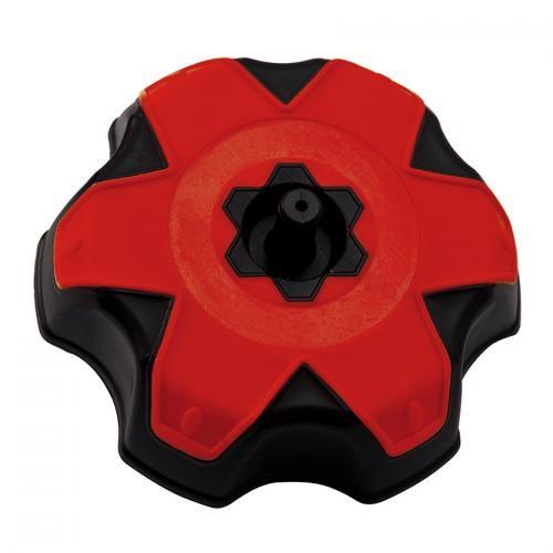 BICOLOURED TANK CAP HONDA RED