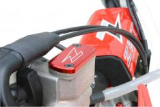 BRAKE RESERVOIR COVER CR/CRF FRONT RED