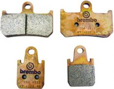 Z04 BRAKE PADS SET SINTER RACING  FRONT