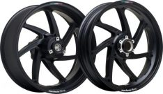 Marchesini 6.0X17 M7RS GENESI ALU BLK MATT REAR