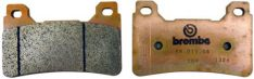 Z04 BRAKE PADS SINTER RACING  FRONT