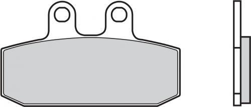 BREMBO BRAKE PADS ORGANIC GENUINE FRONT