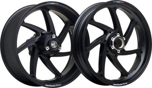 Marchesini 5.5X17 M7RS GENESI ALU BLACK MATT REAR