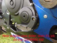 R&G Engine case slider RIGHT SIDE 06-10