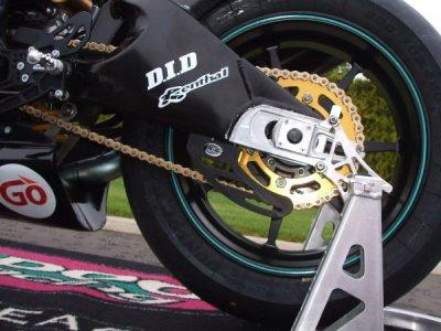 R&G Chain guard black 04-10