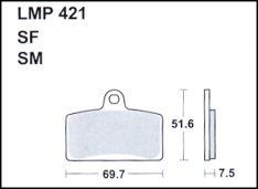 ATHENA Brake Pads FRONT Aprilia RS4 125 2011-2017