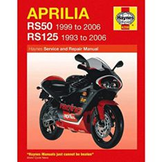 HAYNES Repair Manual Aprilia RS50 & RS125 (93-06)