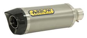 ARROW Titanium End carbon end cap KTM Duke 125 11-14