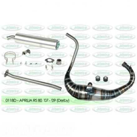Jollymoto Exhaust ALU COLLOR 0114 RS 50 80cc (D50B engine)