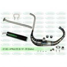 Jollymoto Exhaust Carbon 0114 RS 50 50cc (D50B engine)