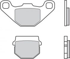 BREMBO 07KA07SD BRAKE PADS SINTER REAR Aprilia RS4 125 11-17