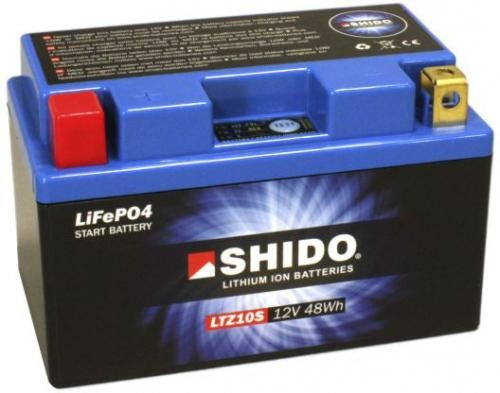 SHIDO LTZ10S LITHIUM ION Battery Yamaha R1 04-16