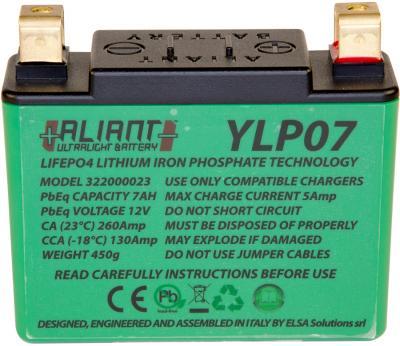 ALIANT YLP07 Lithium Battery