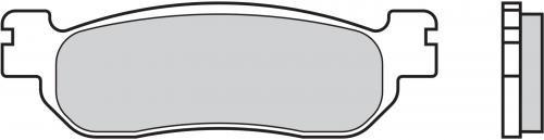 Brembo 07YA3707 BRAKE PADS ORGANIC GENUINE REAR