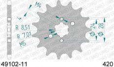 AFAM Sprocket FRONT 49102-11