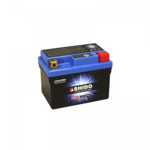 Shido LTX7L-BS 12 V battery