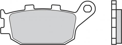07HO36SP BRAKE PADS SINTER REAR KAWASAKI Z650 17-18