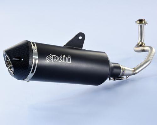Polini Inox exhaust Vespa GTS 125 4 stroke 4V euro 4