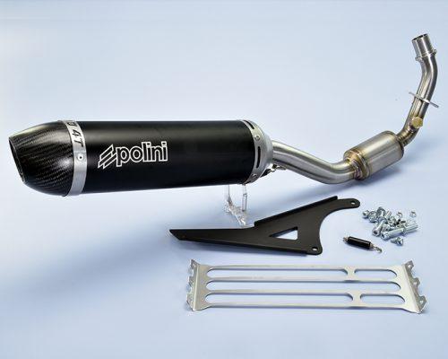 Polini exhaust Vespa 4 stroke 125 cc Primavera ie./Sprint ie