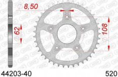 AFAM Rear Sprocket 40 T / 520 Aprilia RS 125 '99-'05