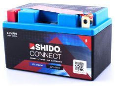 SHIDO Lithium Ion Connect LTZ10S CNT Honda CBR 600RR '03-'17