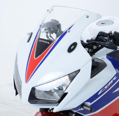 R&G Mirror blanking plate set Honda CBR600 RR '03-'08 & '13-'17