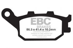 EBC BRAKE PADS Rear FA174V Yamaha R6 '06-'15