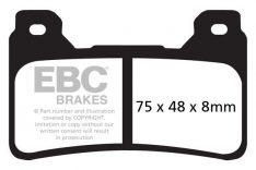 EBC Racing Brakepads Front FA 390GPHHX Honda CBR 600RR '05-17