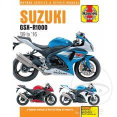 HAYNES Repair Manual Suzuki GSXR 1000 '09-'16