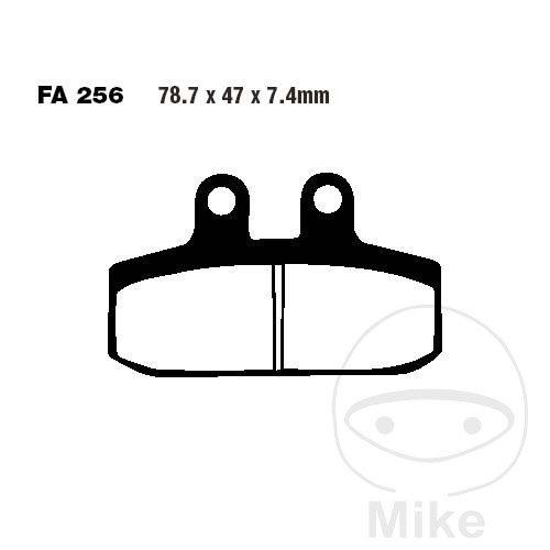 EBC Sintered Brakepads FRONT FA256HH Honda NSR 125