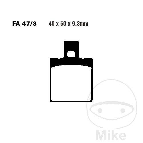 EBC Brakepads REAR FA047/3 Honda NSR 125
