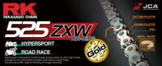 CHAIN X GB525ZXW 120 CLF RIVET